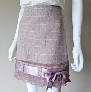 SET Kensie Bow High Waist Skirt & Bolero Jacket